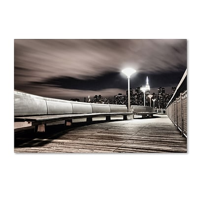 Trademark David Ayash NYC Gallery-Wrapped Canvas Art, 16 x 24