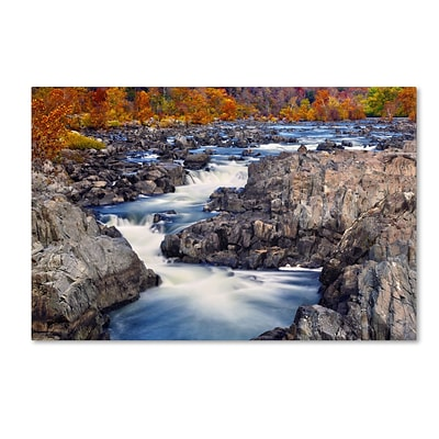 Trademark CATeyes Great Falls Gallery-Wrapped Canvas Art, 22 x 32