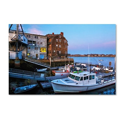 Trademark CATeyes Marblehead Gallery-Wrapped Canvas Art, 16 x 24