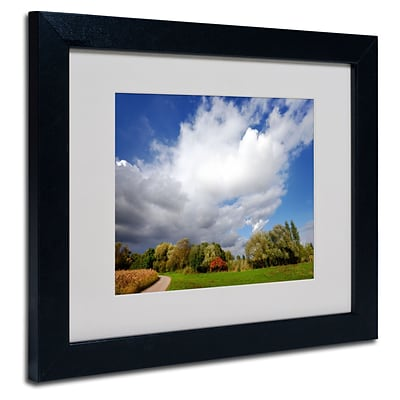 Trademark Philippe Sainte-Laudy Dust in the Wind Art, White Matte With Black Frame, 11 x 14