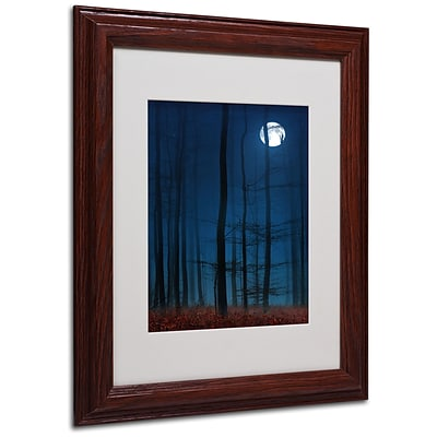 Trademark Philippe Sainte-Laudy Blue Note Art, White Matte With Wood Frame, 11 x 14