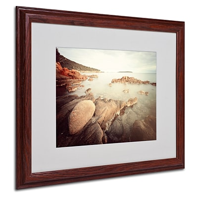 Trademark Philippe Sainte-Laudy Surrender Art, White Matte With Wood Frame, 16 x 20