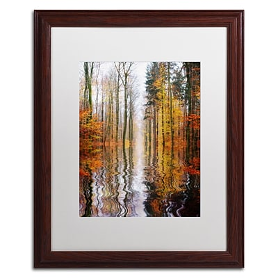 Trademark Philippe Sainte-Laudy Higher Ground Art, White Matte With Wood Frame, 16 x 20