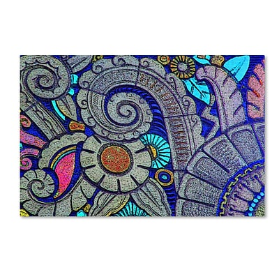 Trademark Patty Tuggle Flower Power Gallery-Wrapped Canvas Art, 30 x 47