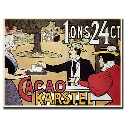 Trademark Cacao Karstel Gallery-Wrapped Canvas Art, 30 x 40