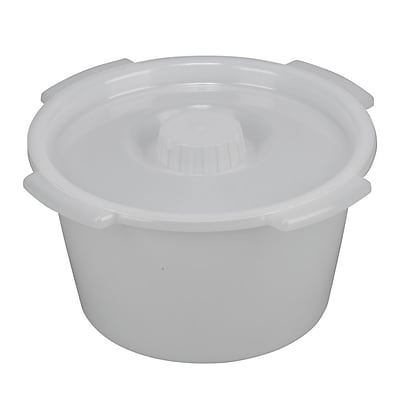 Dmi 12.8 x 12.8 Universal Replacement Pail with Lid & Side Handles