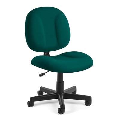 OFM Comfort 105-802 Fabric Task Chair, Teal