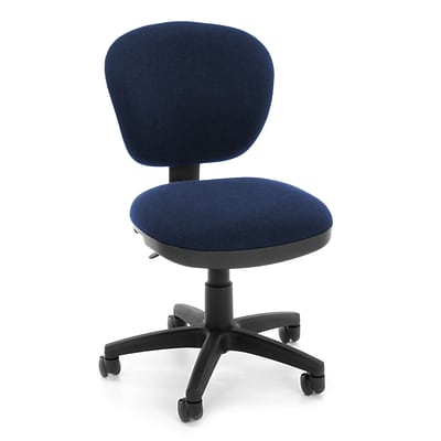 OFM Lite Use 150-119-T Fabric Computer Task Chair, Blue