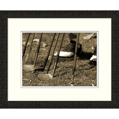 Vintage Golf Collection 2 Framed Art; 23 x 19