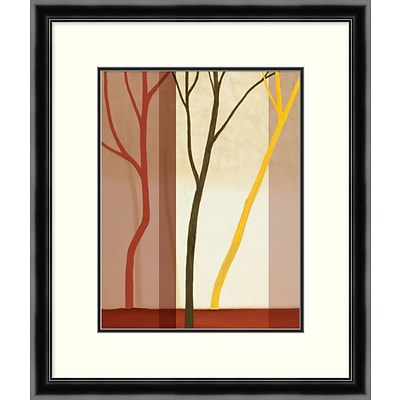 Trees in Forest 1 Framed Art; 23 x 27