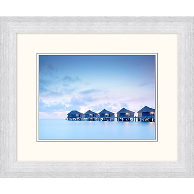 Maldives 1 Framed Art; 24 x 20