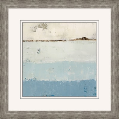 Beach 2 Framed Art; 28 x 28
