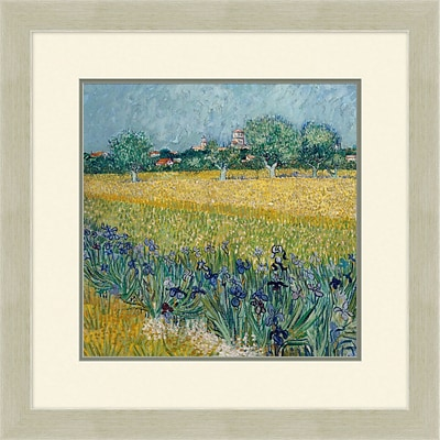 Garden of Montarre 2 Framed Art; 28 x 28