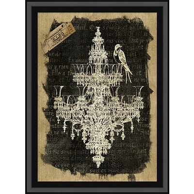 Chandelier 1 Framed Art; 29 x 39