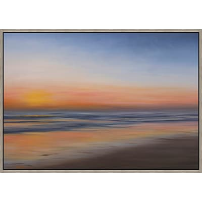 Santa Maria Sunset 1 Framed Art; 41 x 29