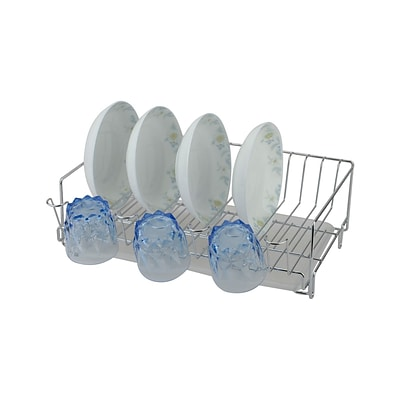 Better Chef® 15 Steel Dish Rack; Chrome