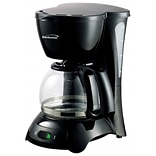 Brentwood® 650W Black 4-Cup Coffee Maker