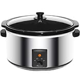 8 qt. Stainless Steel Slow Cooker