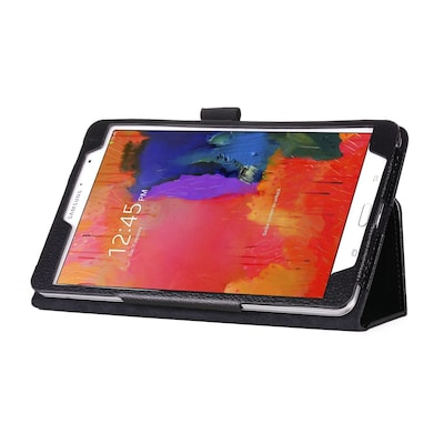 "Mgear Double Fold Folio Case For 8.4"" Samsung Galaxy Tab Pro, Black"