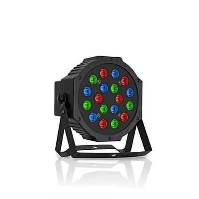 Technical Pro lgspot18 Professional 18 RGB LED Par Can With Power Linking