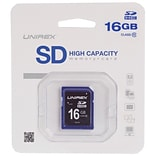 Unirex® 16GB SD High Capacity Class 10 Memory Card (93589455M)