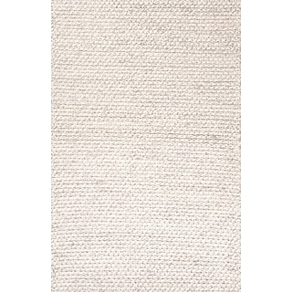 Jaipur Textured Ultra Plush Area Rug Wool, 8 x 5