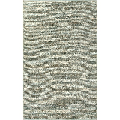 Jaipur Naturals Solid Pattern Area Rug Jute, 5.6 x 3.6