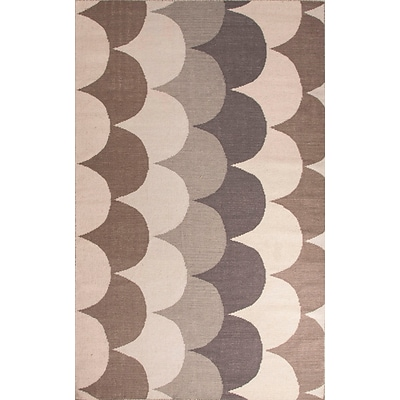 Jaipur Addison and Banks Flat Weave Area Rug Wool, 5 x 8