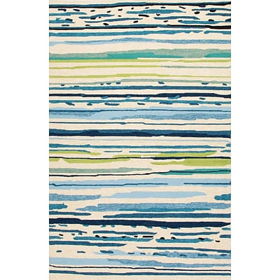 Jaipur Abstract Pattern Area Rug Polypropylene 7.6 x 5