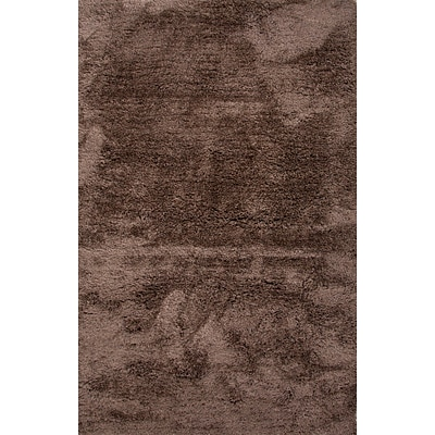Jaipur Shag Solid Pattern Area Rug Polyester 5 x 8