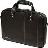 Mobile Edge BK/WH Briefcase F/Ultrabook