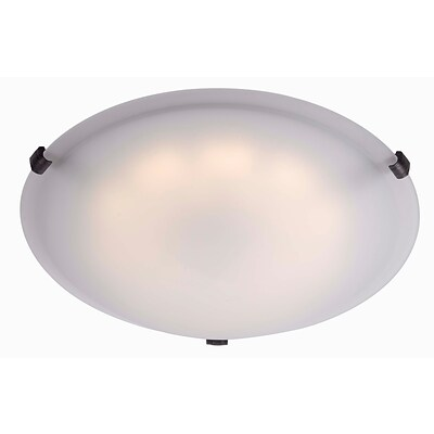 Kenroy Home 90675ORB 5 1-Light Flush Mount, Oil Rubbed Bronze