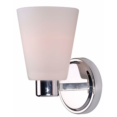 Kenroy Home Scarsdale 93451PN 9 x 5 1-Light Wall Sconce, Polished Nickel