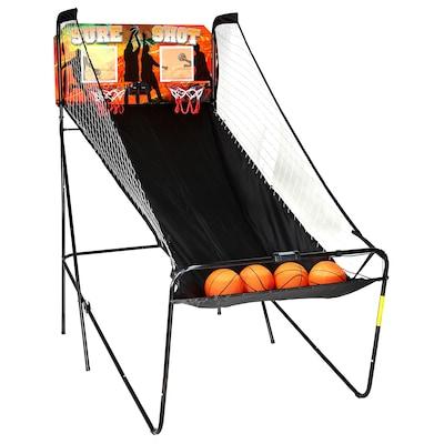 Carmelli BG2233 MDF Electronic Basketball Table, Black