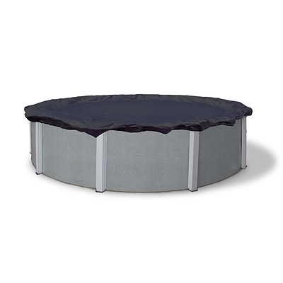 Arctic Armor BWC700 Blue Round Above-Ground 8 Year Winter Pool Cover, 16