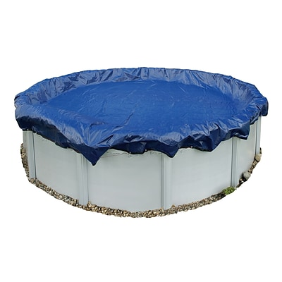 Arctic Armor BWC910 Blue Round Above-Ground 15 Year Winter Pool Cover, 32