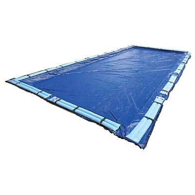 Arctic Armor BWC966 Blue Rectangular In Ground 15 Year Winter Pool Cover, 24 x 48