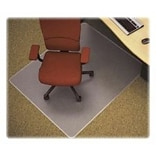 Lorell Rectangular Chair Mat, Clear