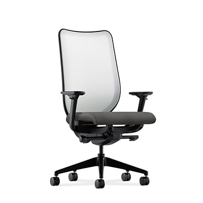 HON® Nucleus® Knit Mesh Back Office/Computer Chair, Adjustable Arms, Centurion Black