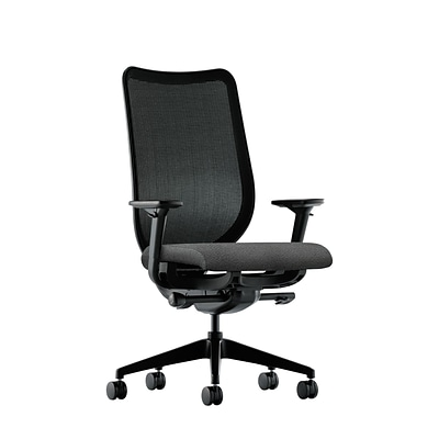 HON® Nucleus® Knit Mesh Back Office/Computer Chair, Adjustable Arms, Centurion Iron Ore Fabric