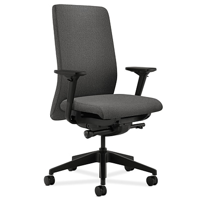 HON® Nucleus® Mid-Back Office/Computer Chair, Iron Ore