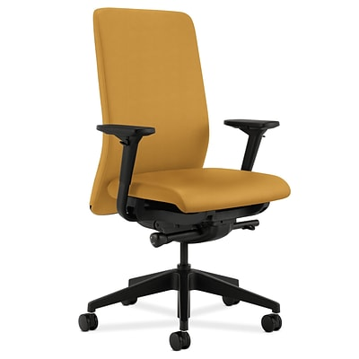 HON® Nucleus® Mid-Back Office/Computer Chair, Mustard