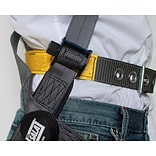 CAPITAL SAFETY GROUP USA Polyester & Aluminum Vest Style Harness, Medium