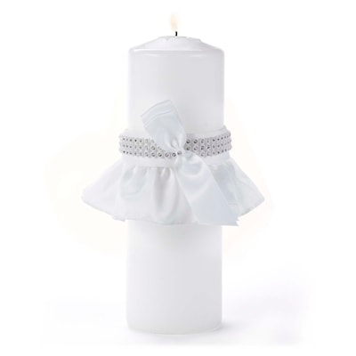 Hortense B.Hewitt Bling Unity Candle w Wrap