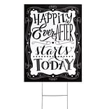 H.B.Hewitt Happily Ever After Yard Sign
