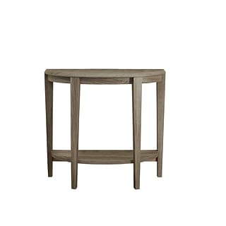 Monarch Specialties Inc. I 2452 36 Console Accent Table, Dark Taupe