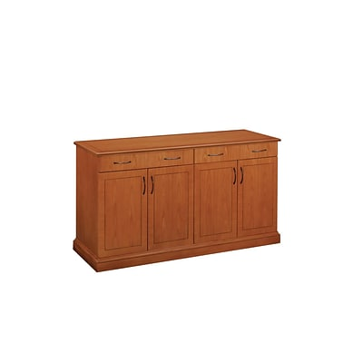 DMI Belmont Office Collection In Executive Cherry W Rectangle - Office buffet table