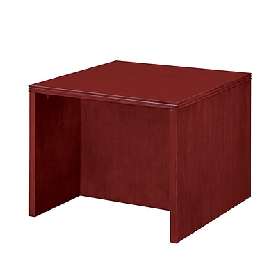 DMI® Saratoga Office Collection in Pinot Cherry; 24W Veneer Square End Table