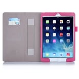 i-Blason Leather Slim Book Case For iPad Air 2, Magenta