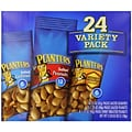 Planters® Variety Pack Peanuts & Cashews, Salted Peanuts, Honey Roasted Peanuts, Salted Cashews, Nut